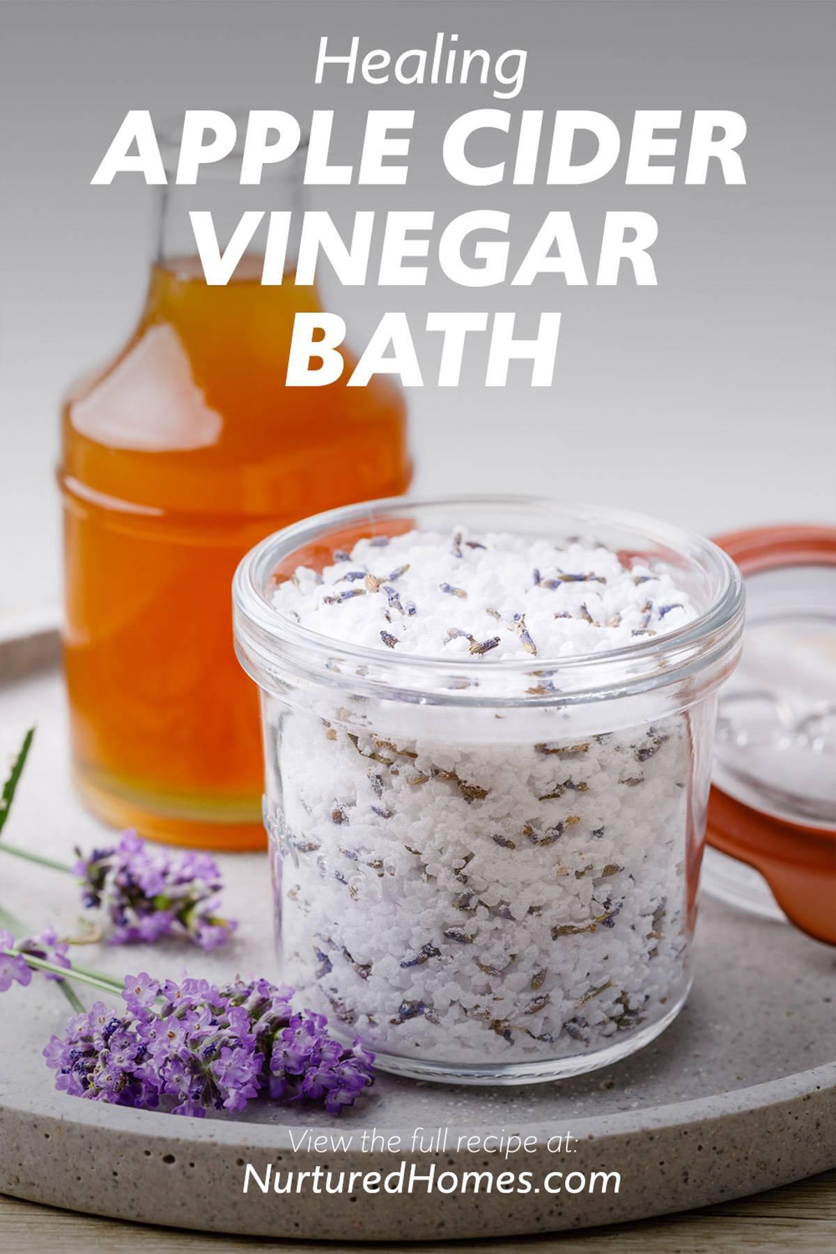 Healing Apple Cider Vinegar Bath Recipe