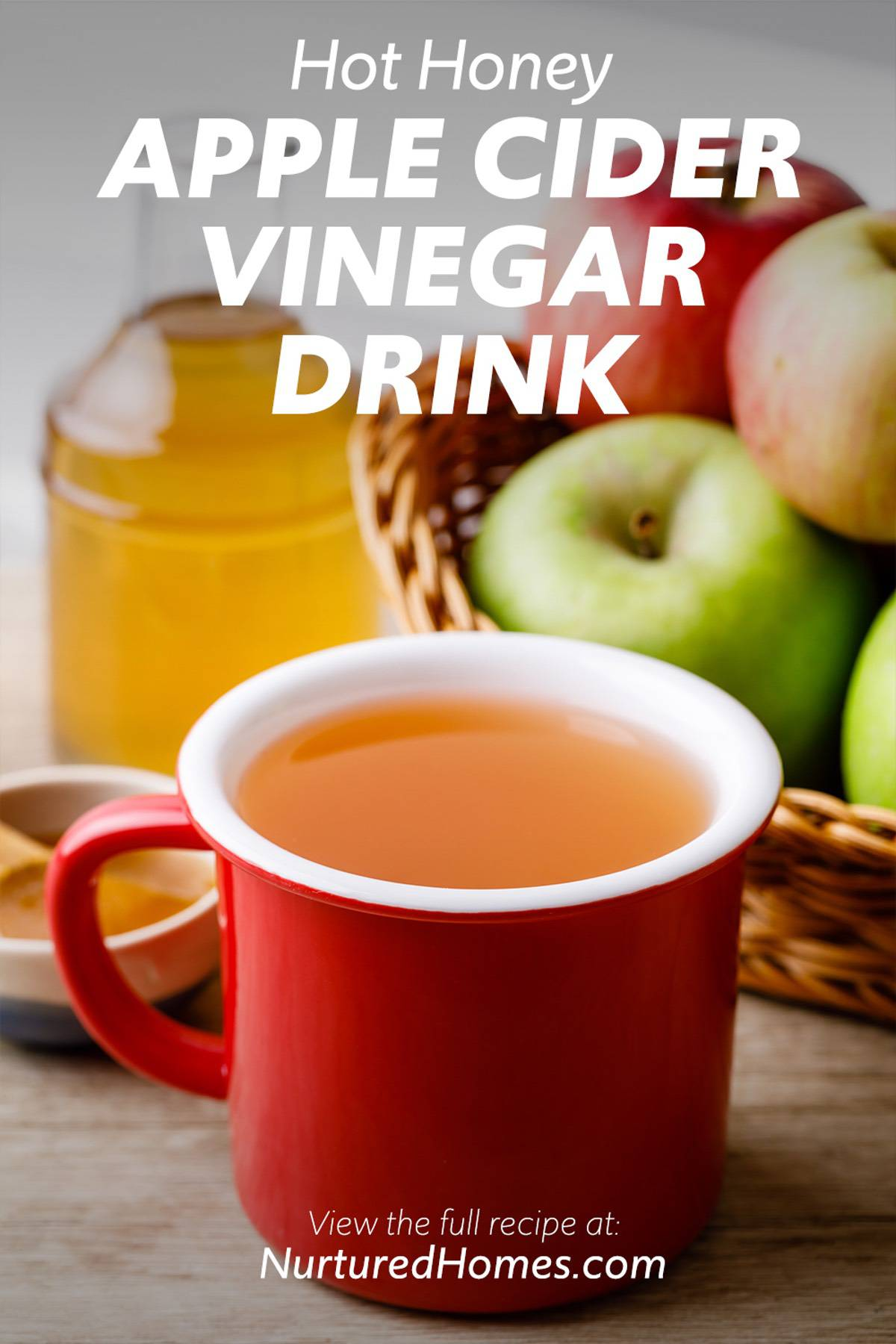 Hot Honey Apple Cider Vinegar Drink for Your Daily Bedtime Ritual