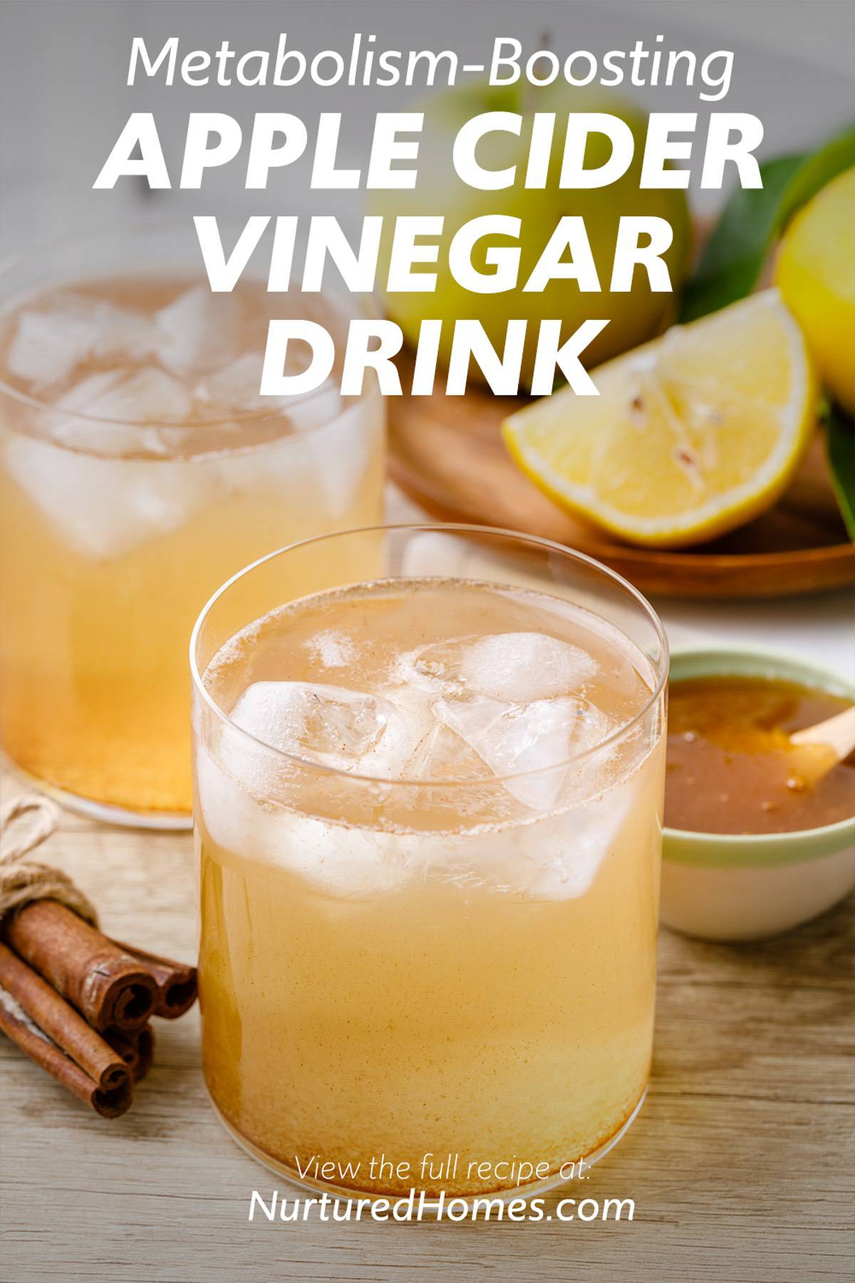 4-Ingredient Apple Cider Vinegar Drink for Weight Loss