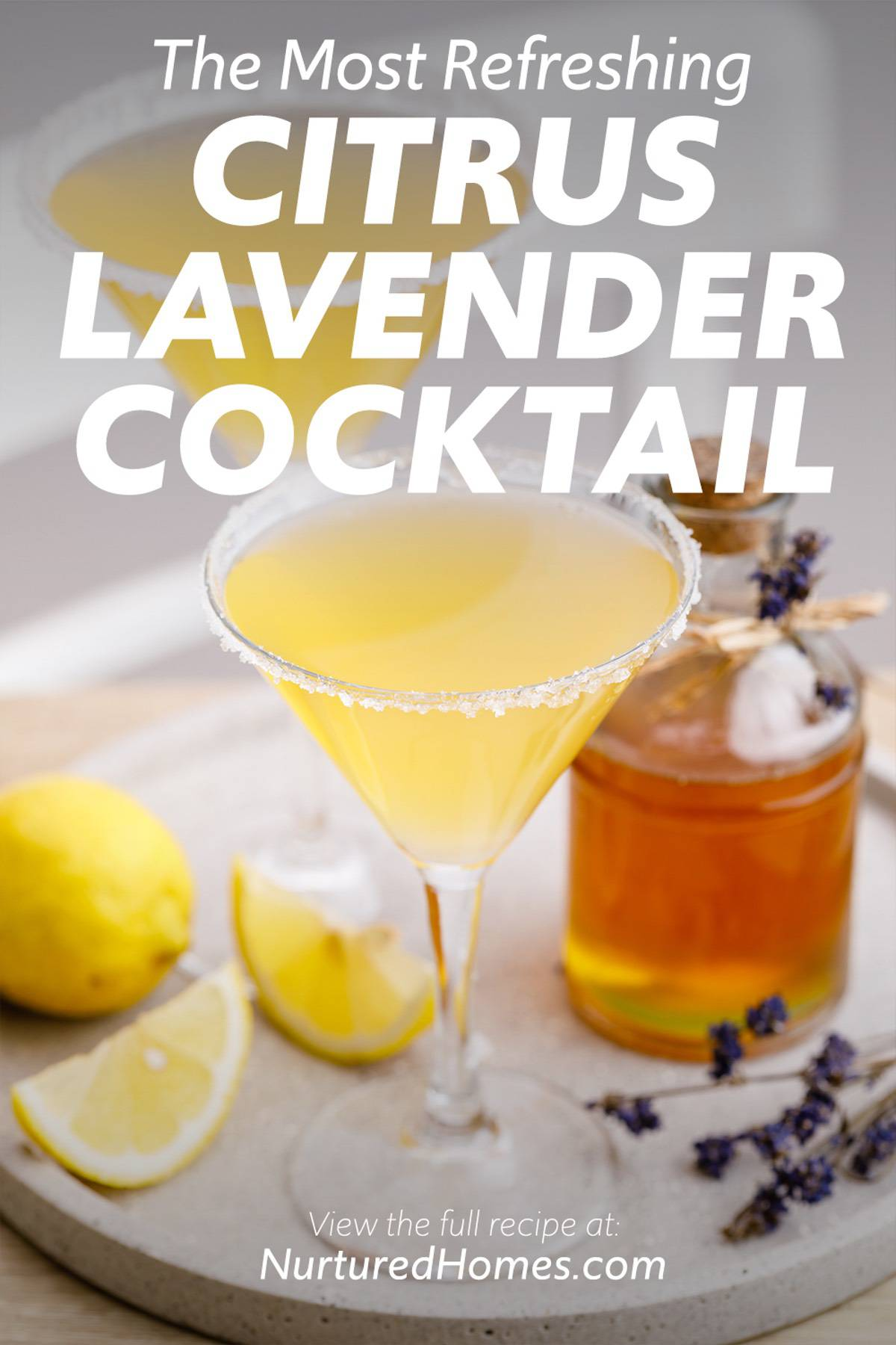 The Most Refreshing Citrus Lavender Cocktail Ever