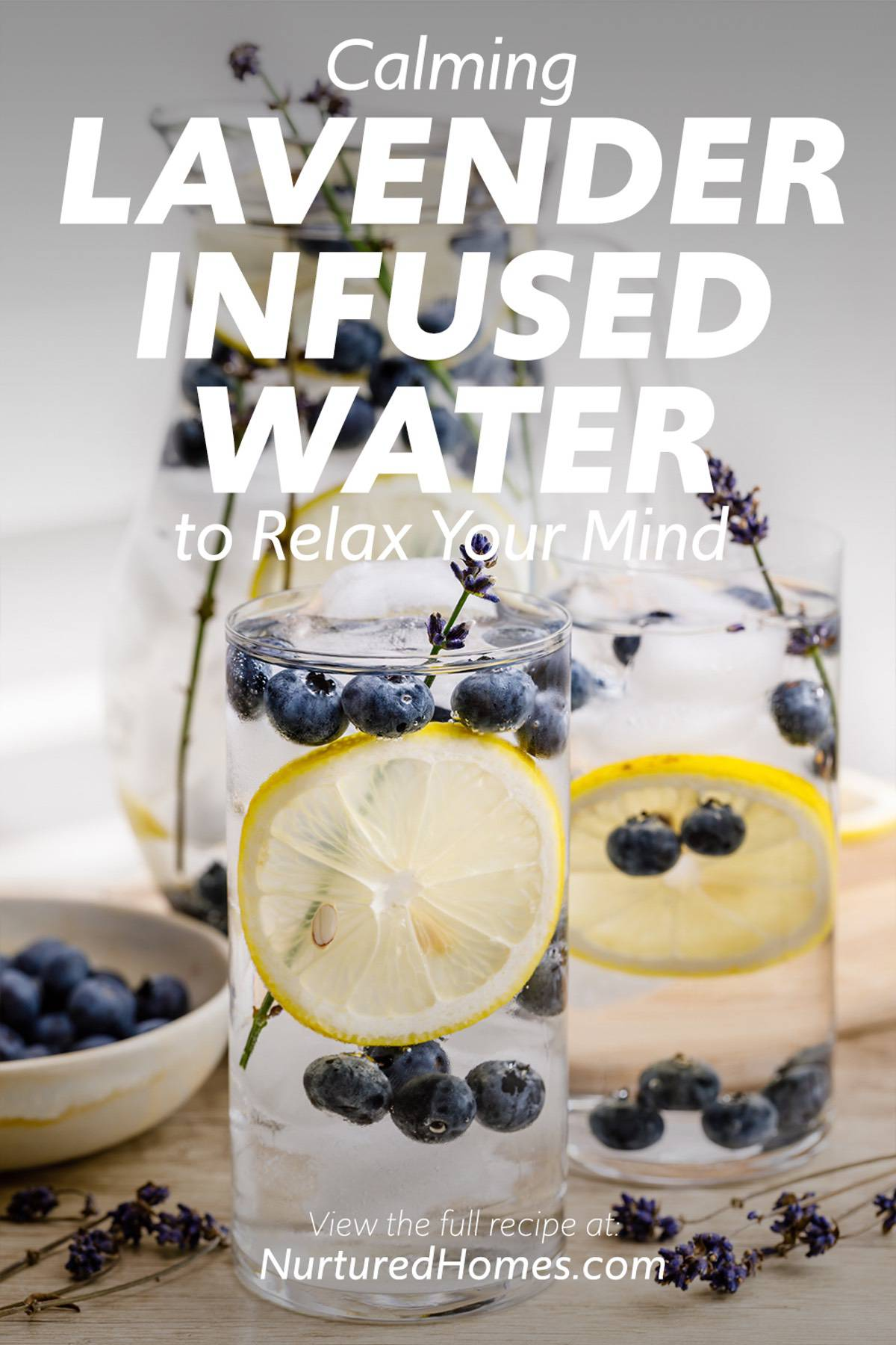 Calming Lavender-Infused Water Recipe to Relax Your Mind