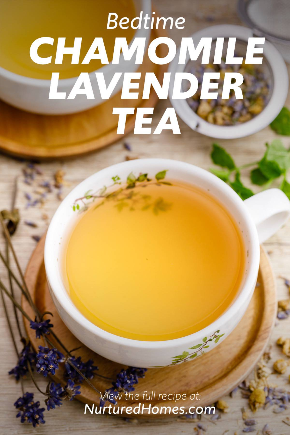 How to Make the Best Bedtime Chamomile Lavender Tea