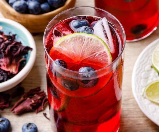 Blueberry Hibiscus Tea