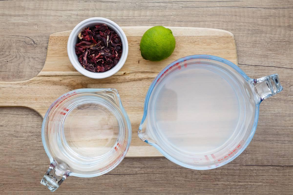 Coconut Hibiscus Water