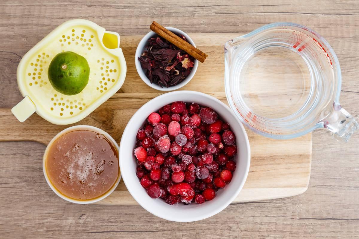 Cranberry Hibiscus Tea