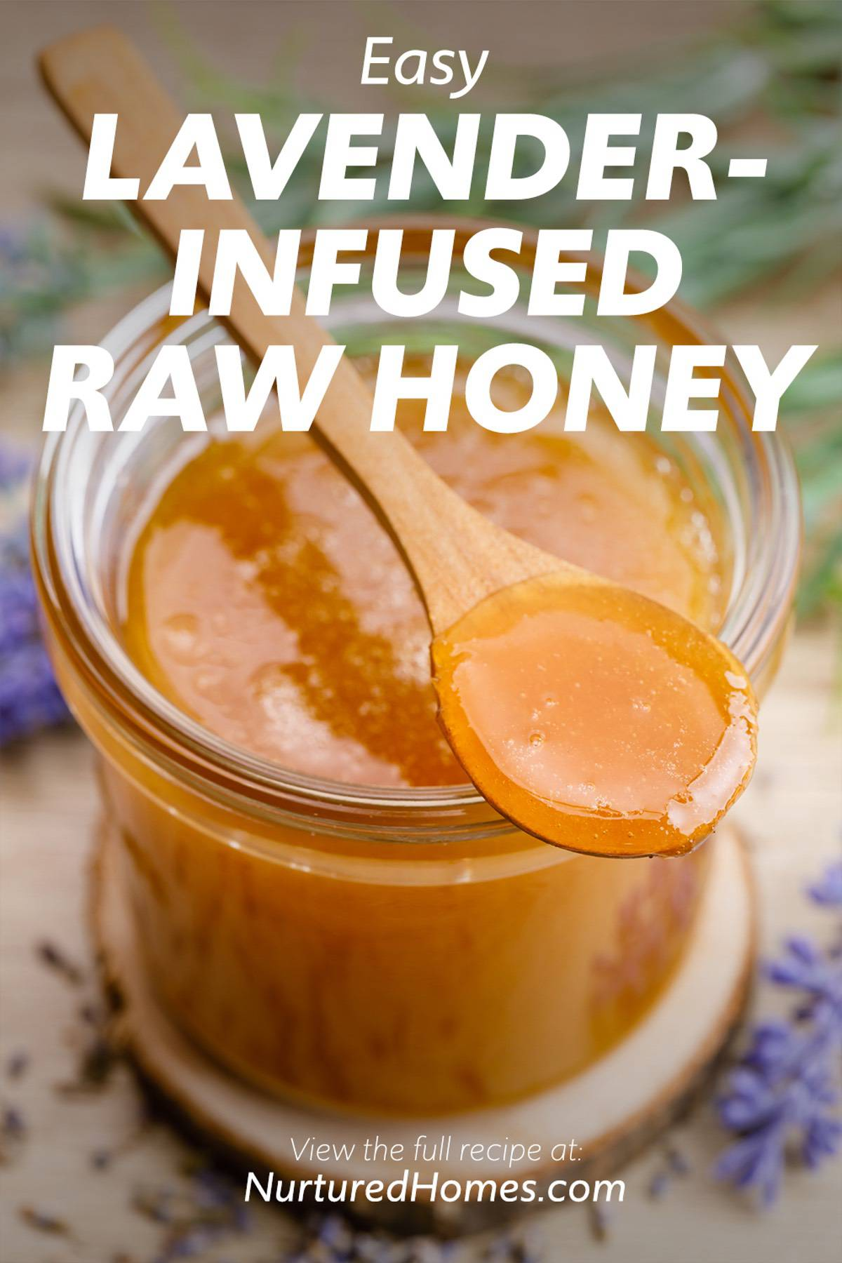 Easy Lavender-Infused Raw Honey Recipe