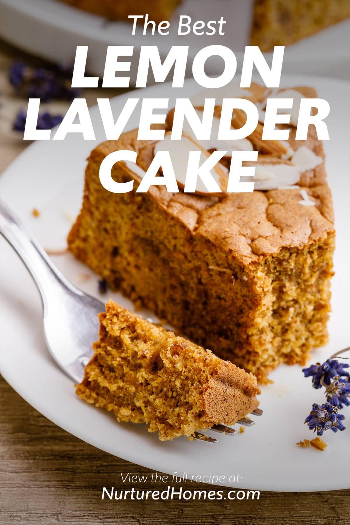 The Best Lemon Lavender Cake Ever