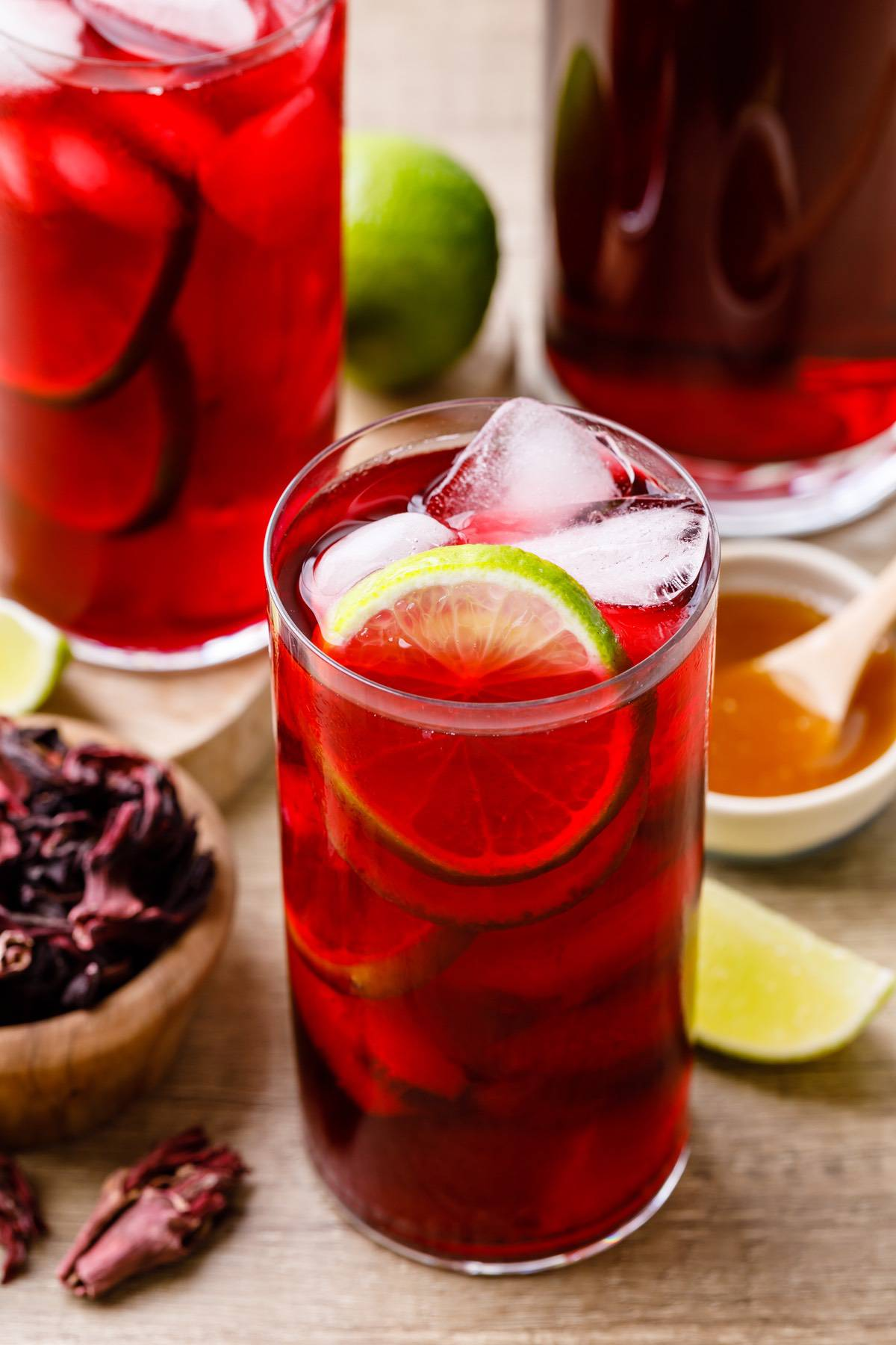 Mexican Hibiscus Drink