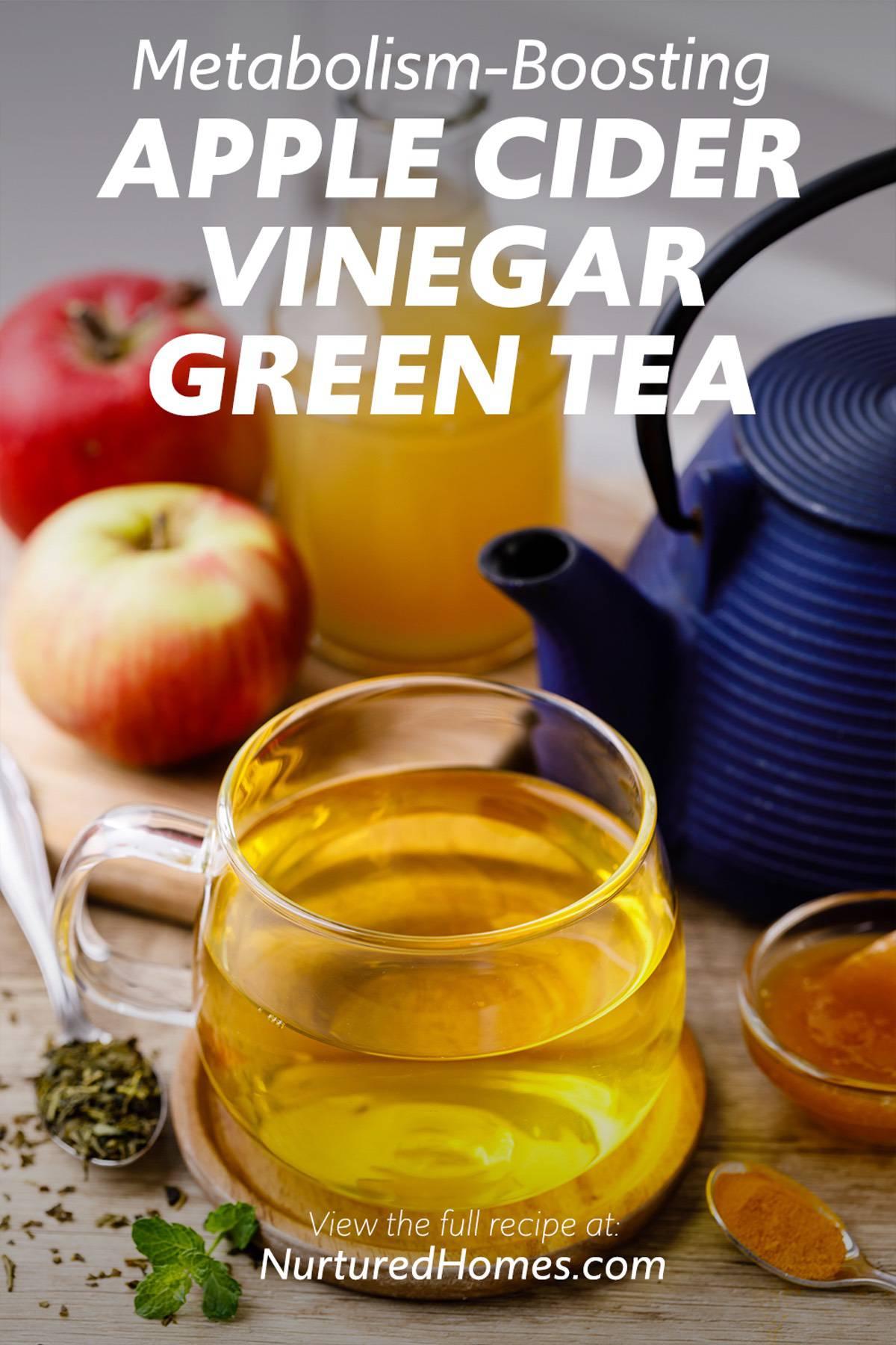 Metabolism-Boosting Apple Cider Vinegar Green Tea