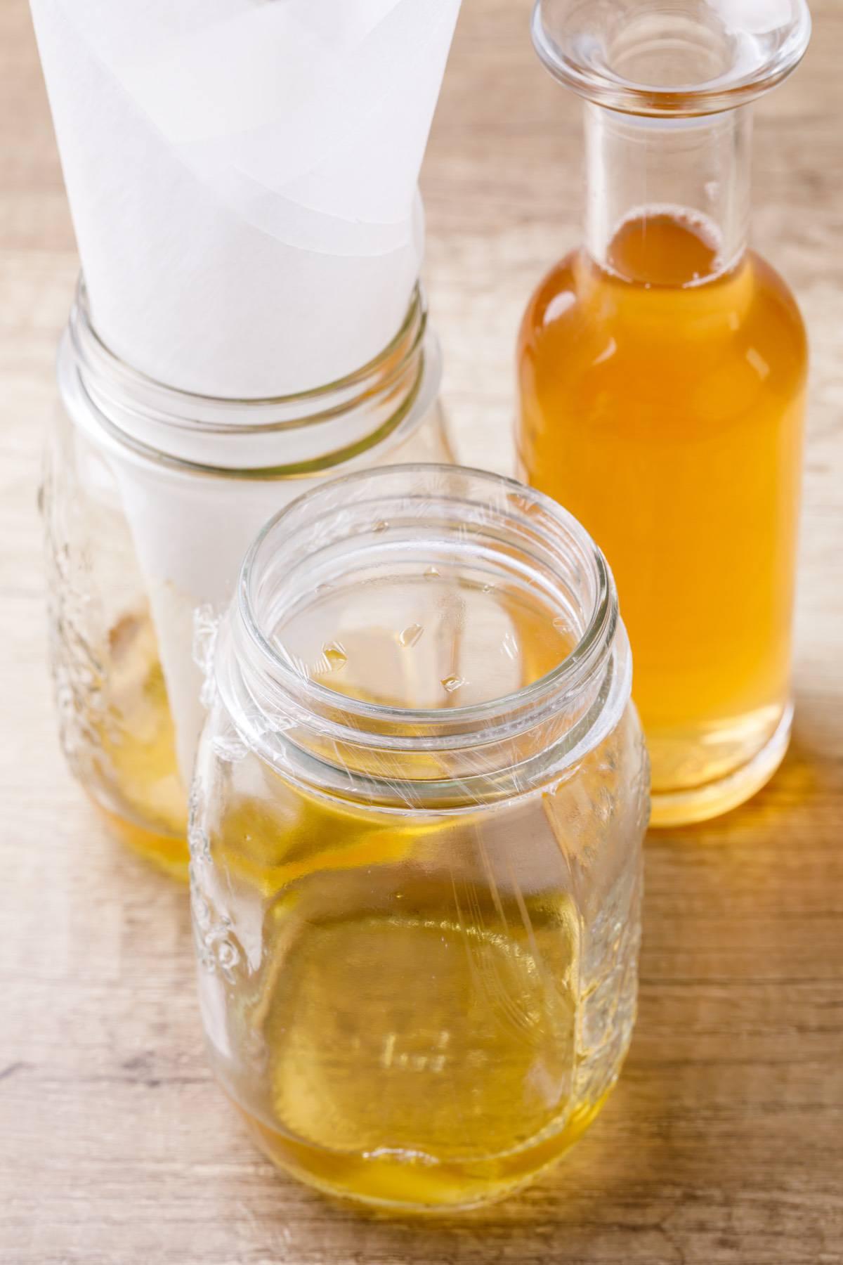 Apple Cider Vinegar Diy Fruit Fly Trap