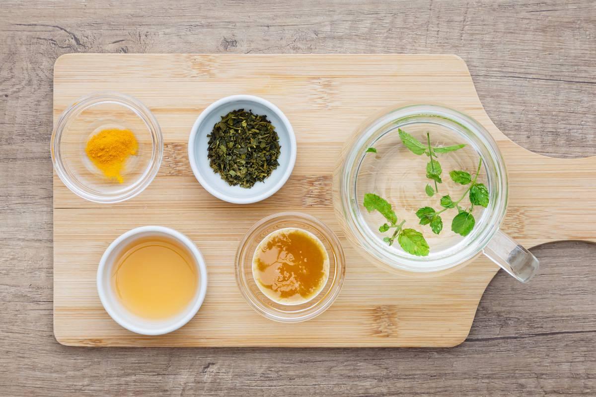Apple Cider Vinegar Green Tea
