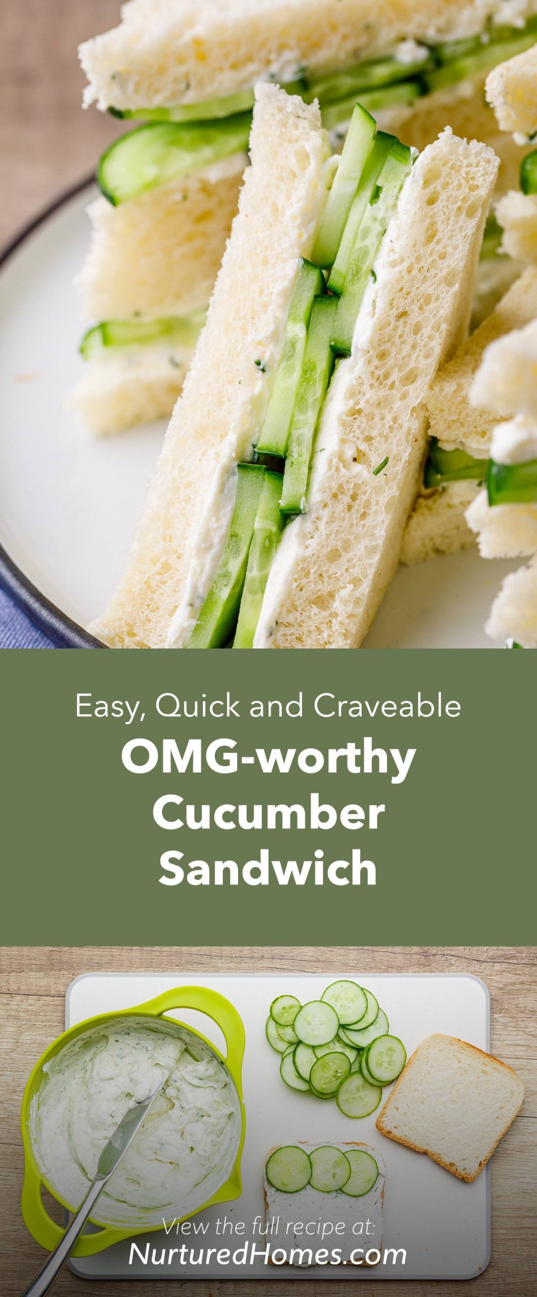 OMG-worthy Cucumber Sandwich Recipe