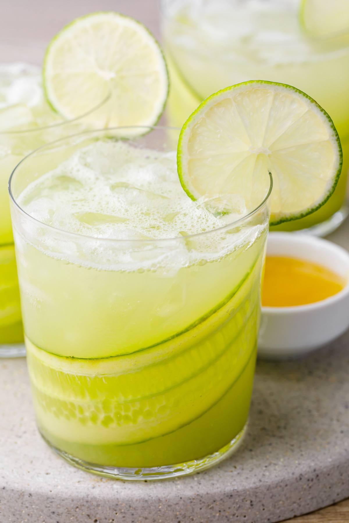 Cucumber Vodka Soda