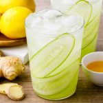 Ginger Cucumber Juice Lemonade