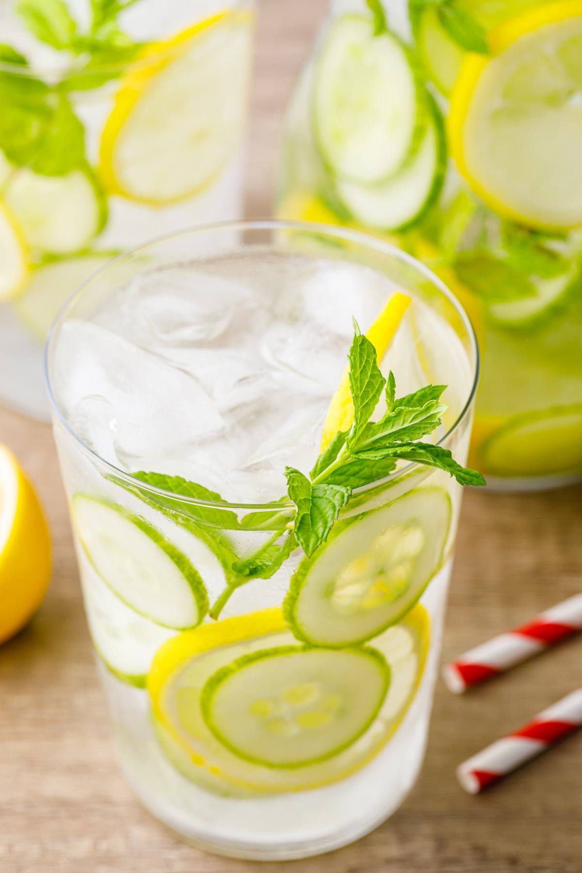 Lemon Cucumber Water