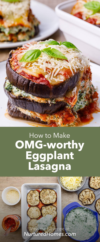 OMG-worthy Eggplant Lasagna (Cheesy and Comforting)