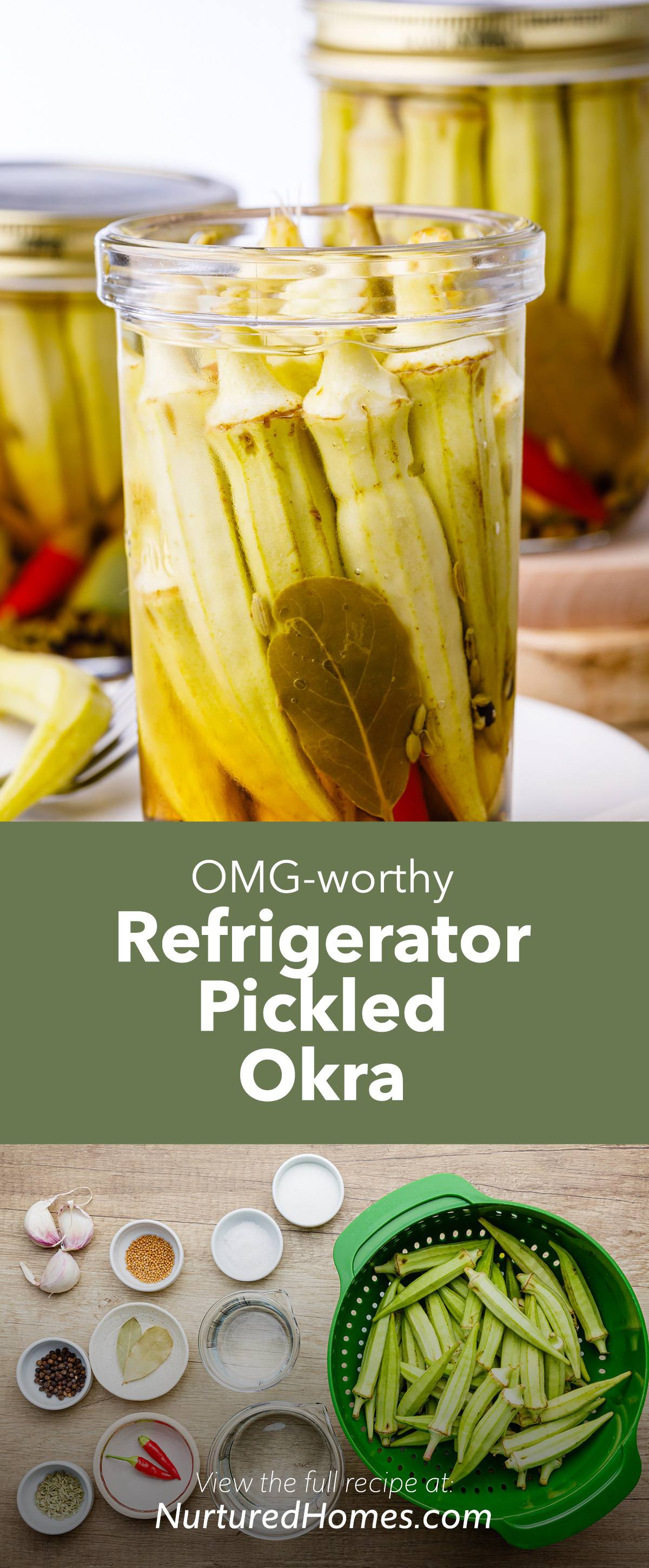 Refrigerator Pickled Okra Recipe That Turns Okra Haters Into Okra Lovers