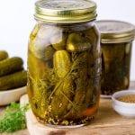 Refrigerator Dill Pickles